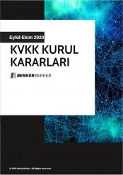 KVKK Bülteki, Eylül-Eki 2020 Kapak